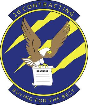 2nd Contracting Squadron emblem