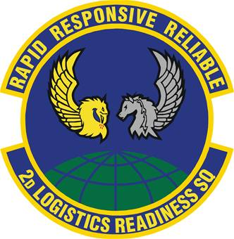 2nd Logistics Readiness Squadron emblem
