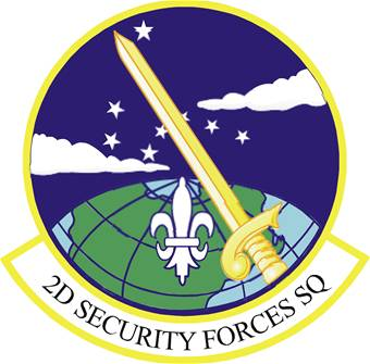 2nd Security Forces Squadron emblem