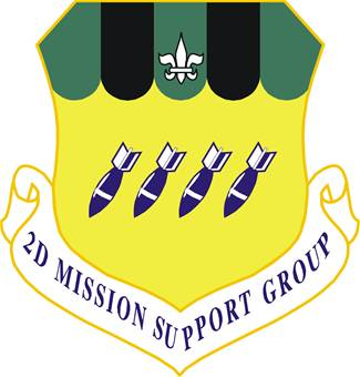 2nd Mission Support Group emblem